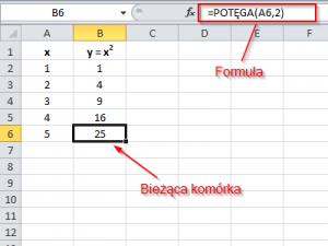 Podstawy funkcji w Excel