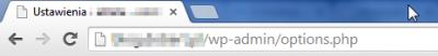 Ustawienia WordPress